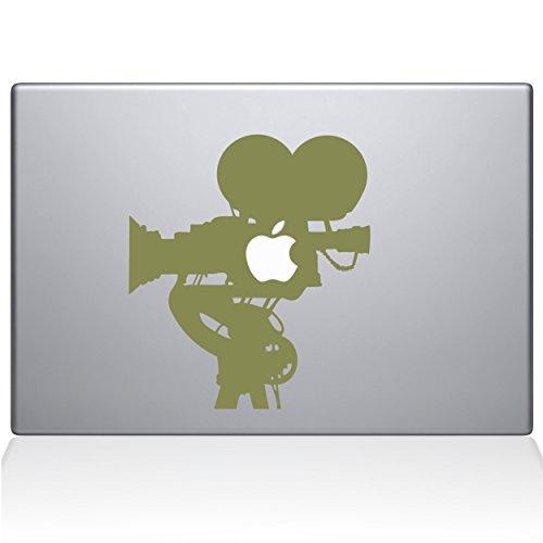 The Decal Guru 0063-MAC-13X-G Film Camera MacBook Decal Vinyl Sticker, 13' MacBook Pro (2016 & Newer), Gold