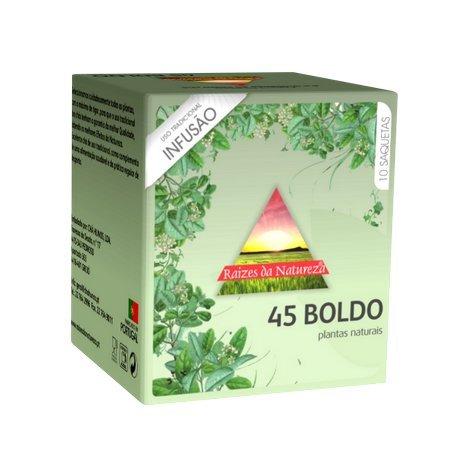 Raizes da Natureza - Boldo (peumus boldus molina L.) - 10 Teebeutel x 8 = 80 Teebeutel