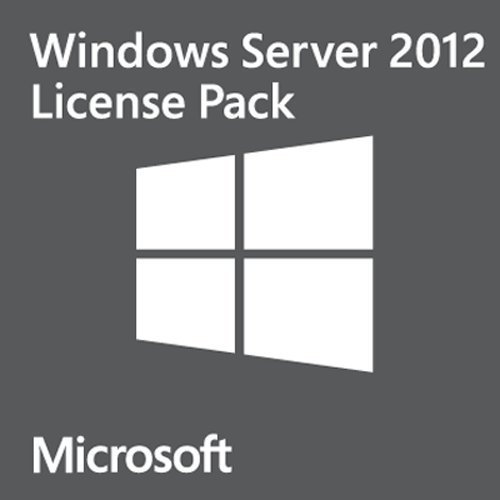 Microsoft Windows Server 2012 Client Access Licence (CAL) - User: 5 Pack (PC) for HP