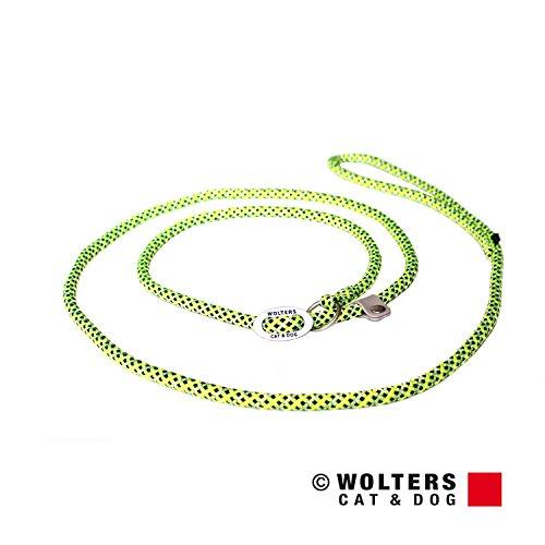 Wolters | Moxonleine Everest reflektierend gelb/schwarz | L 180 x B 0,9 cm