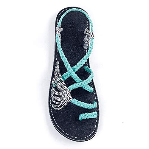 Flat sandals for beach