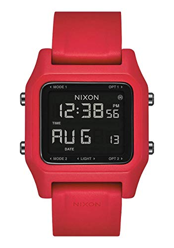 Nixon Herren Digital Chinesische Automatik Uhr mit Kunststoff Armband A1282-200-00