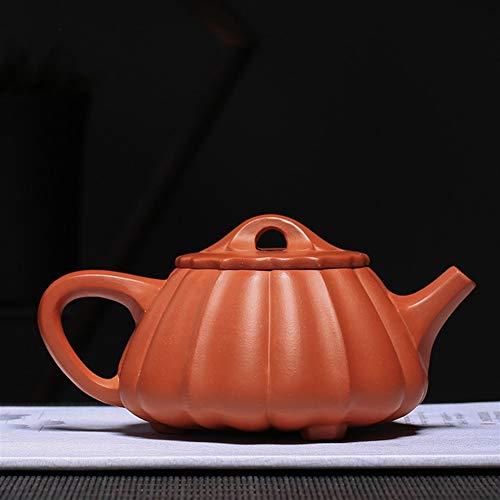 New Teapot Tea cup Zhuni Handmade Tea Scoop Ribs Proluta Gift On Behalf CRTTRC Teapot (Color : Purple mud, Size : One Size)
