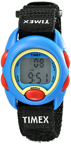 Timex Kids' TW7B996009J Digital Display Watch with Adjustable Nylon Strap
