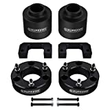 Supreme Suspensions - Full Lift Kit for 2007-2020 Avalanche Suburban Tahoe Yukon 1500 3.5' Front Strut Spacers + 3' Rear Spring Spacers