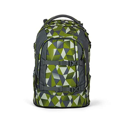 satch Pack Green Crush, ergonomischer Schulrucksack, 30 Liter, Organisationstalent, Blau