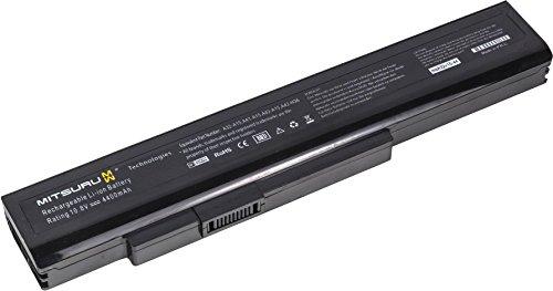4400mAh Batterie de Remplacement Ordinateur Portable Notebook pour MSI A6400 Akoya Serie