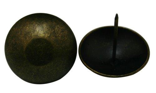Wuuuycoky Nagellack, rund, groß, antikes Messing