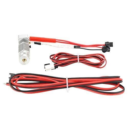 FYYONG 1Set R1 R1+Hexagon Hot End Kit 1.75Mm All Metal Hotend 12V with 100Kohm Thermistor 0.4Mm Nozzle for Robo R1 3D Printer Parts