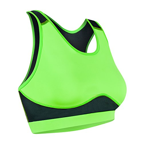 Assoluta UNO Damen Sport Bikini Top S neon grün