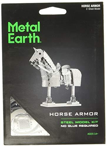 Fascinations Metal Earth Horse Armor 3D Metal Model Kit