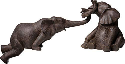 Kare Lot de 2 Figurines décoratives Éléphants de Cirque