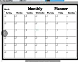 Calendar Organizers