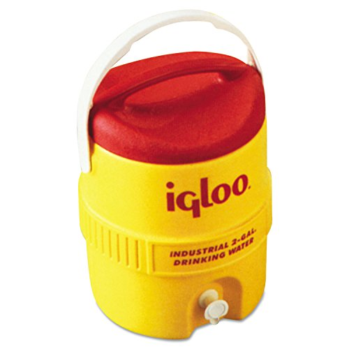 Igloo 421 Beverage Cooler, 2 gal., Yellow