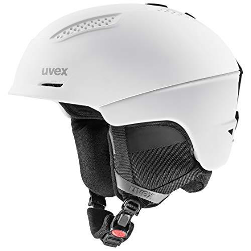 uvex Unisex– Erwachsene Ultra Skihelm, white/black, 55-59 cm
