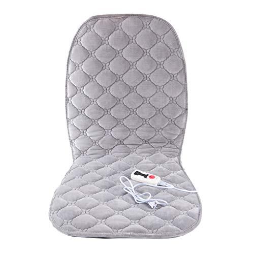 OCYE Zitkussen voor bureaustoel met temperatuurregelaar, elektrisch verwarmingskussen met snelverwarming, timer, snelle installatie, stoelverwarming