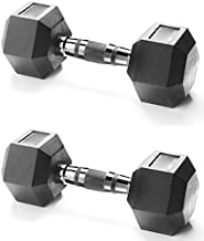 Body Sculpture Dumbbell with Chrome Handle