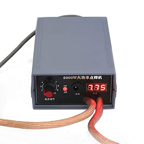 HaiMa 5000W Mini Spot Welder Kit Diy 18650 Battery Pack Welding Tools Portable Spot Welding Machine Pen For 0.1/0.15/0.2/0.25Mm Nickel Strip - 5000W