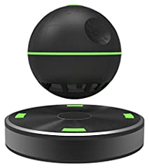 Floating speaker above a magnetic base Orb can be used as a portable speaker USB port in the base for charging speaker orb or smart phone Emits a green light for visual aesthetic Connectivity via Bluetooth and NFC, Wireless Range 10 meters