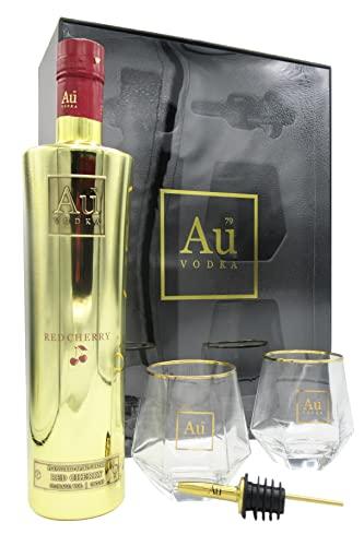 Au - Red Cherry & Glasses Gift Set Pack - Vodka