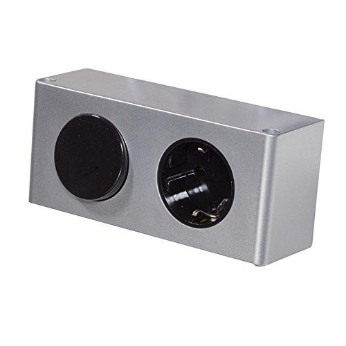 Energiebox für 230V LED Badleuchte Kombibox Spiegelschrank Steckdose TÜV geprüft (ohne Netzteil)