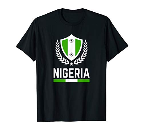 Nigeria Soccer Jersey 2019 Nigerian Football Team Fan Shirt