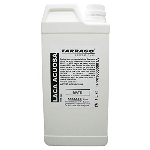 Tarrago | Wässriger Mattlack 1L | Farbstofffixierer, der die Wasserdichtigkeit verbessert