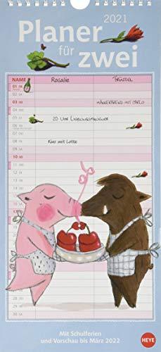 Rosalie & Trüffel Planer für zwei Kalender 2021