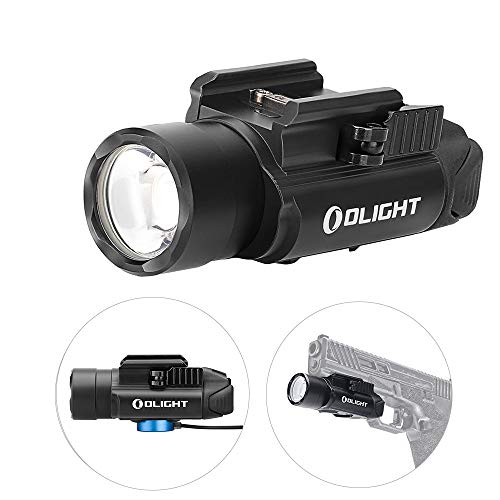OLIGHT PL-Pro Valkyrie 1500 Lumens Cree XHP 35 HI NW Rechargeable Weaponlight Rail Mount Tactical Flashlight with Strobe