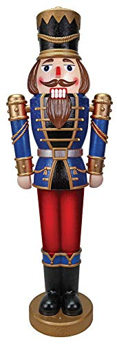 Pan Asia Christmas Nutcracker Animated Toy Soldier 5'