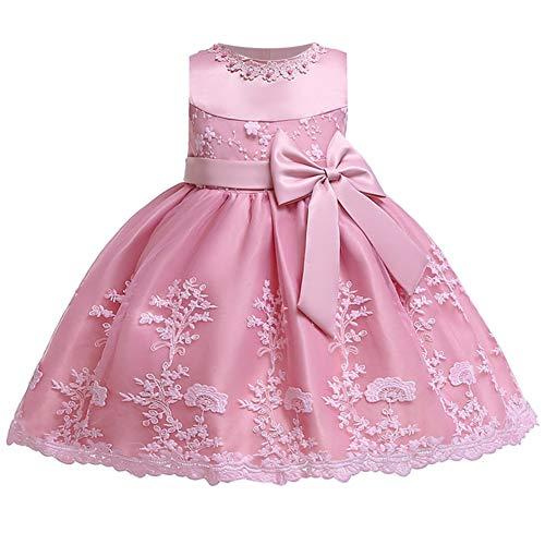 LZH Kleinkind Baby Mädchen Kleid Geburtstag Bowknot Hochzeit Tutu Prinzessin Blume...