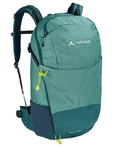 VAUDE Rucksaecke20-29l Prokyon Zip 20, Kompakter Wander- und Outdoorrucksack, nickel green, one Size, 141369840