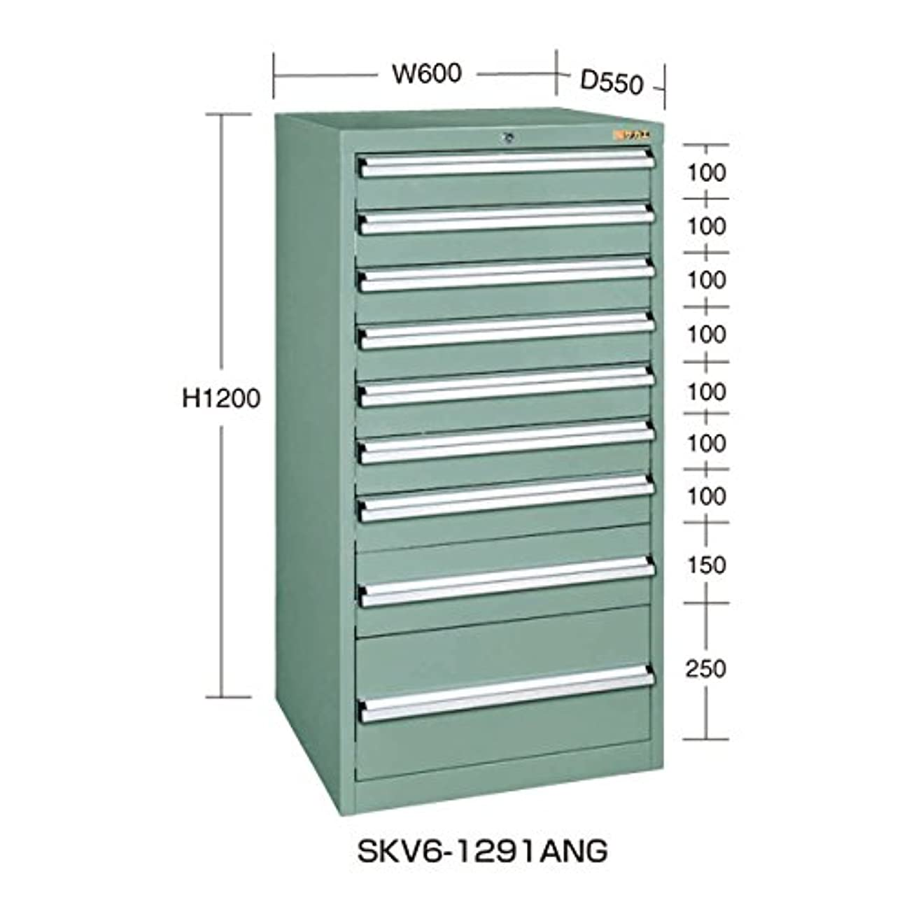 粒スキム相互接続SKVキャビネット SKV6-1291ANG