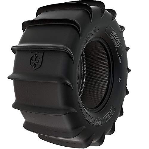 Pro Armor T301414SA Sand Rear UTV Tire 30x14 R14 4-Ply 16-Paddle for RZR Ranger Maverick
