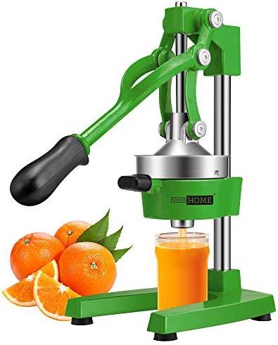 VIVOHOME Heavy Duty Commercial Manual Hand Press Citrus Orange Lemon Juicer Squeezer Machine product image