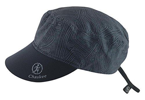 Chaskee Reversible Cap Maze mit Neoprenschild (Wendemütze, UV 80), Farbe:black