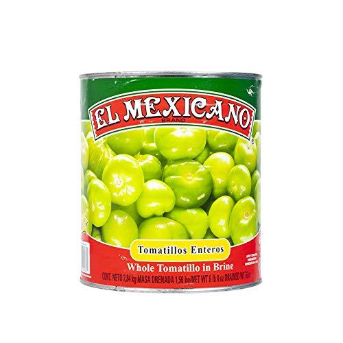 Ganze Grüne Tomatillos, Dose 2840g - Abtropfgewicht 1560g - Tomatillos Enteros EL MEXICANO, 2840g