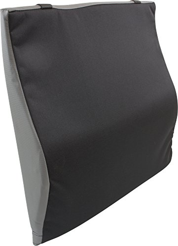 """Roscoe Foam Back Seat Cushion with Lumbar Support – Wheel Chair Cushion For Your Back - Maximum Lumbar Back Support For Wheelchairs - Promotes Stability, Comfort and Healthy Posture - 16"""" x 17"""""""