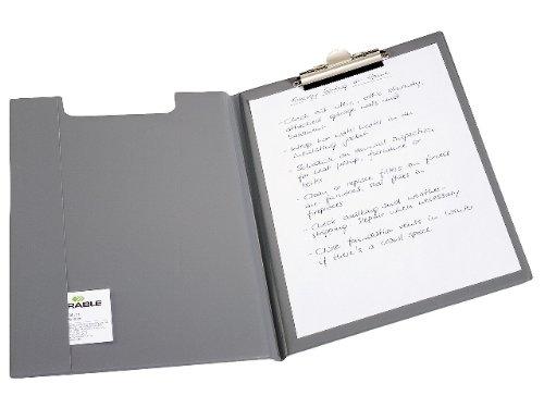 Preisvergleich Produktbild Durable 235707 Blockmappe (für DIN A4,  Weichfolie,  Klemme oben,  330 x 15, 5 x 235 mm) dunkelblau