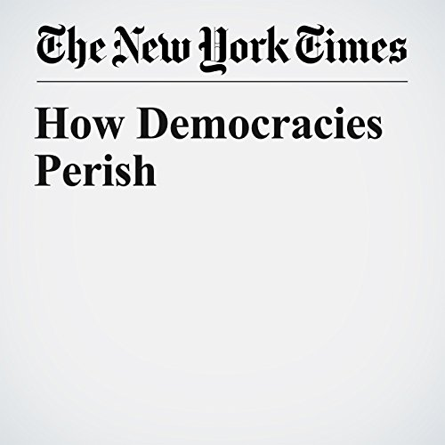 How Democracies Perish copertina