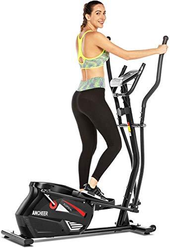 ANCHEER Vélo elliptique de Finess elliptique Volant...