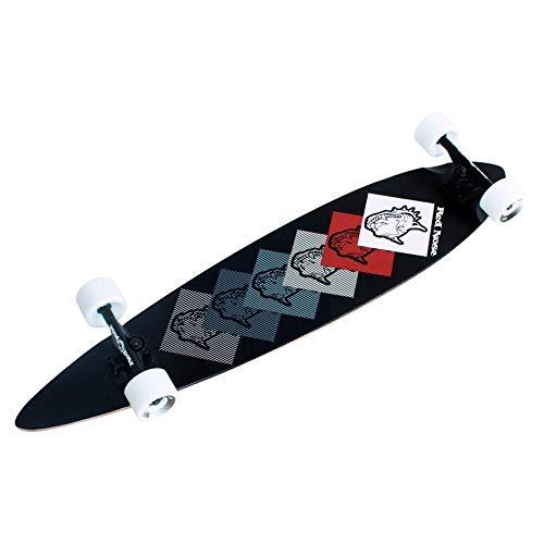 Skate Longboard Red Nose Dogs Preto - Bel Fix