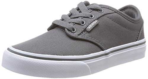 Vans Jungen Atwood Low-Top, Grau ((Canvas) Pewter 4WV), 33 EU