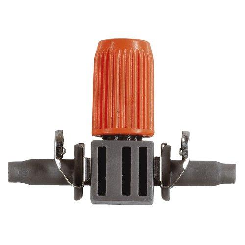 Gardena Micro-Drip-System Regulierbarer Reihentropfer: Tropfer für Pflanztröge mit unterschiedlichem Wasserbedarf, einfache Reinigung (8392-20)