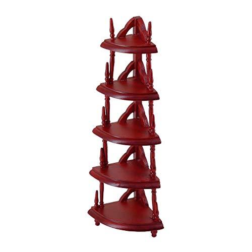 Juego de muebles de casa de muñecas UK escala 1/12 mini casa de muñecas accesorios miniatura estante de almacenamiento modelo muebles de cocina