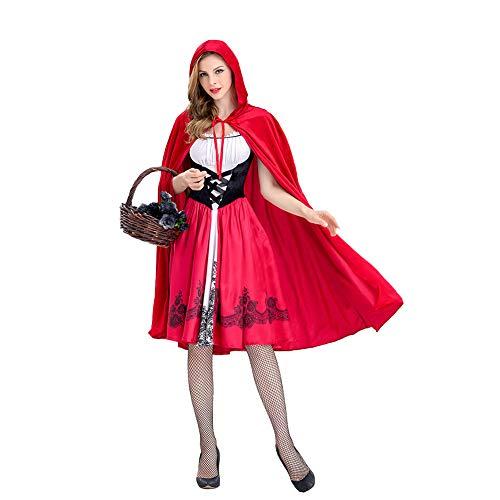 Chollius Vestido de mujer Cospaly Halloween Disfraz Cospaly Carnaval Novia Fantasma Capa...