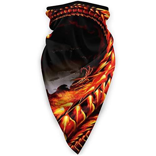 BJAMAJ Masque coupe-vent pour homme et femme Motif dragon chinois