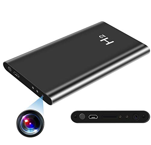 HD 1080P 5000mAH Hidden Power Bank Camera, AMCSXH Protable Nanny Cam, Security Cam, Battery Long Time Recording, No WiFi Needed Spy Camera