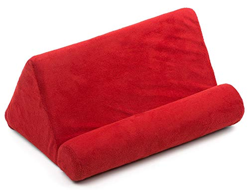 Cellorizing Soft Pillow Lap Stand for iPads, Tablets, eReaders, Smartphones, Books, Magazines (Red)
