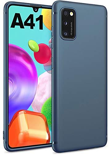 BENNALD Hülle für Samsung Galaxy A41 Hülle, Soft Schutzhülle Hülle Cover - Premium TPU Tasche Handyhülle für Samsung Galaxy A41 (Dunkelblau)